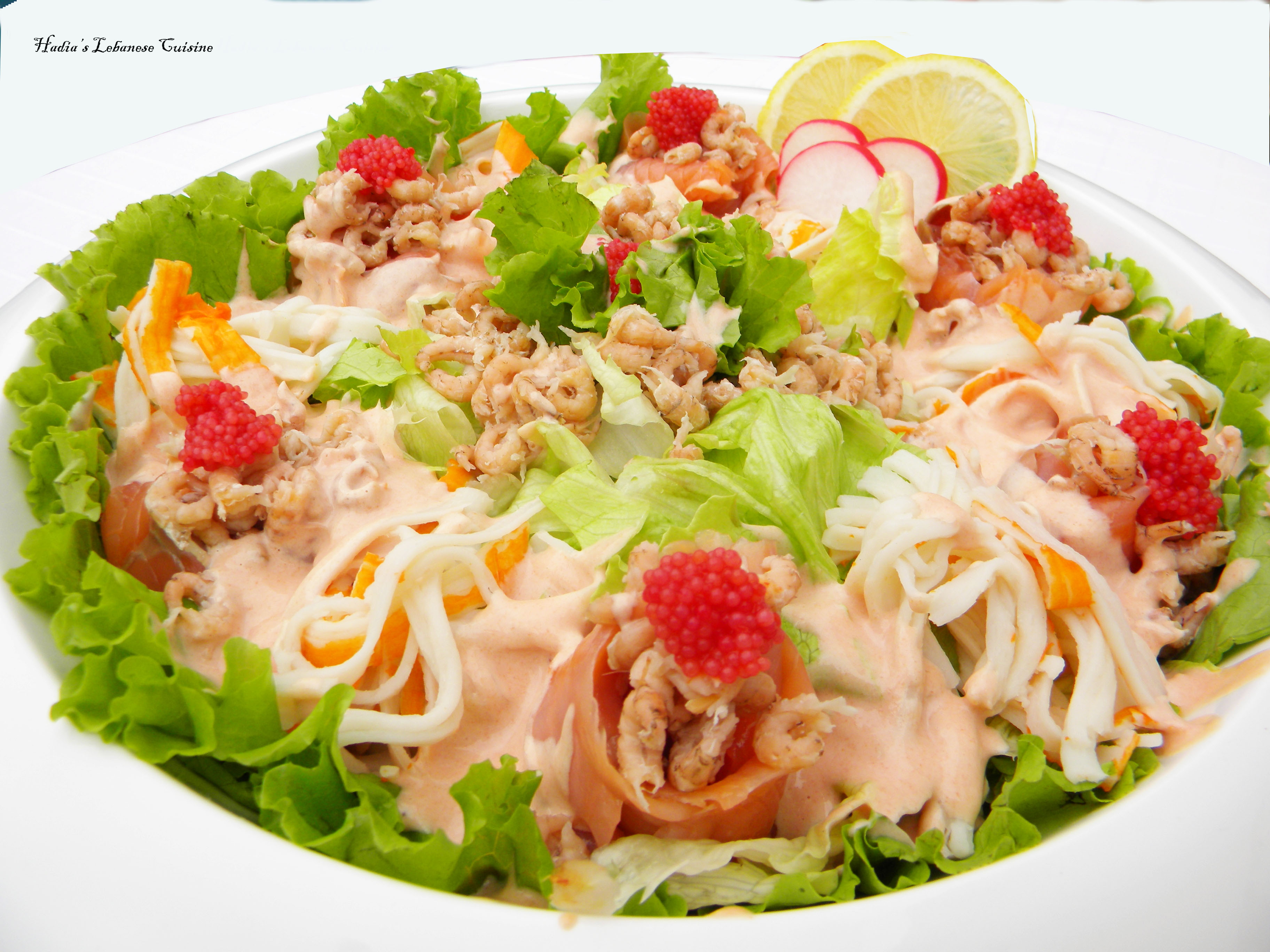 Seafood Salad A Luxury Salad Packed With Proteins And A