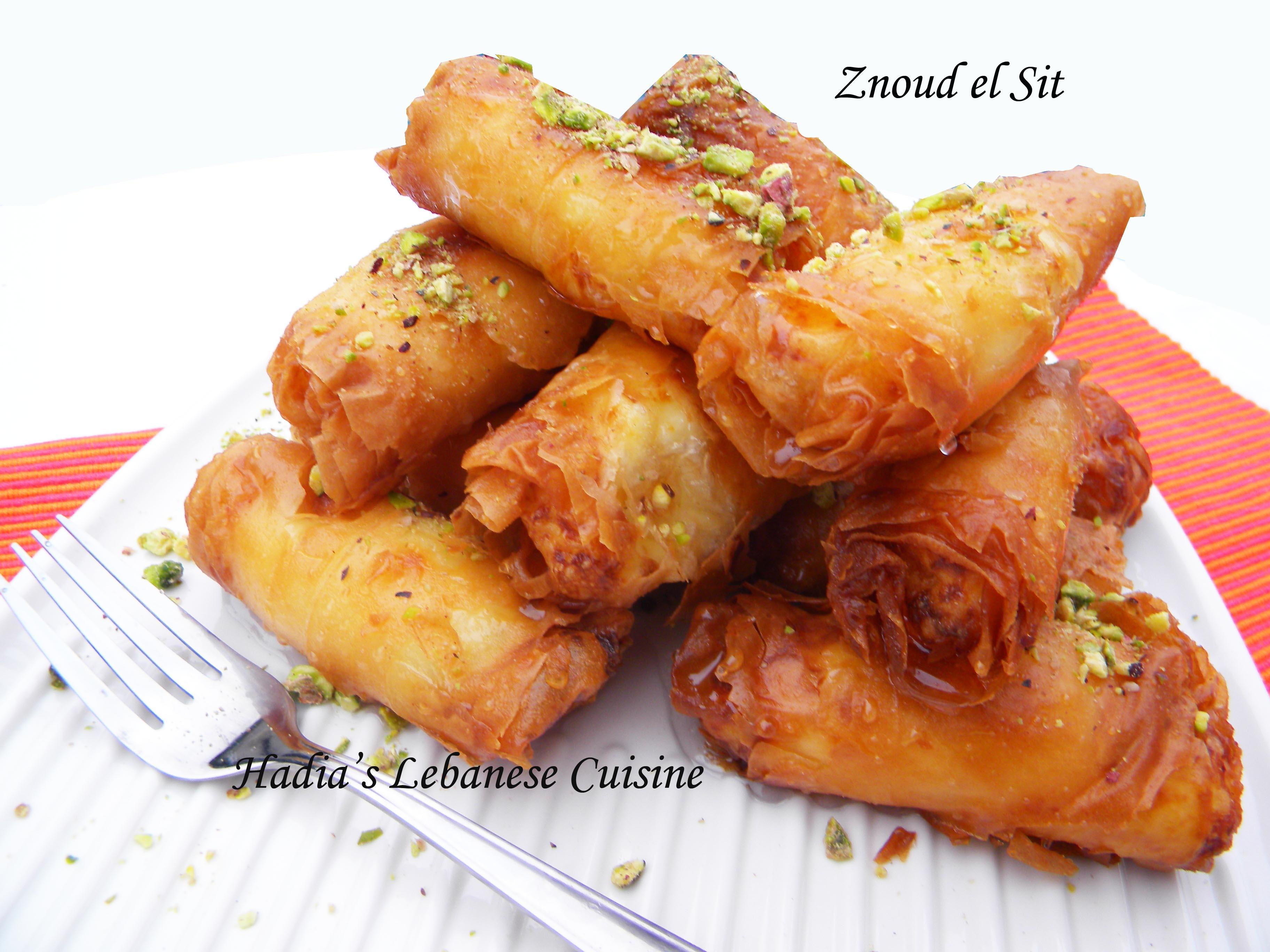 Znoud el sit hadia 39 s lebanese cuisine for About lebanese cuisine